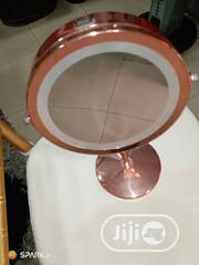 Rose Gold Led Table Mirror | Home Accessories for sale in Lagos State, Lagos Island
