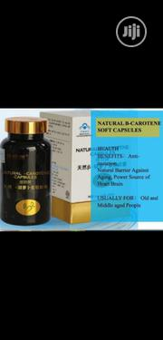 Natural B-Carotene Soft Capsule | Vitamins & Supplements for sale in Lagos State, Lagos Mainland