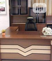 Complete Set of Executive Table With Chair and One Height Book Shelve | Furniture for sale in Lagos State, Ojo