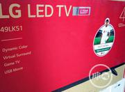 LG 49inches Smart Tv LED | TV & DVD Equipment for sale in Lagos State, Ojo