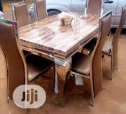 Marble Dining Set(With6chair)   Furniture for sale in Lagos State, Ifako-Ijaiye