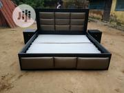 6 By 6 Kings Bed With Two Bed Side | Furniture for sale in Abuja (FCT) State, Lugbe