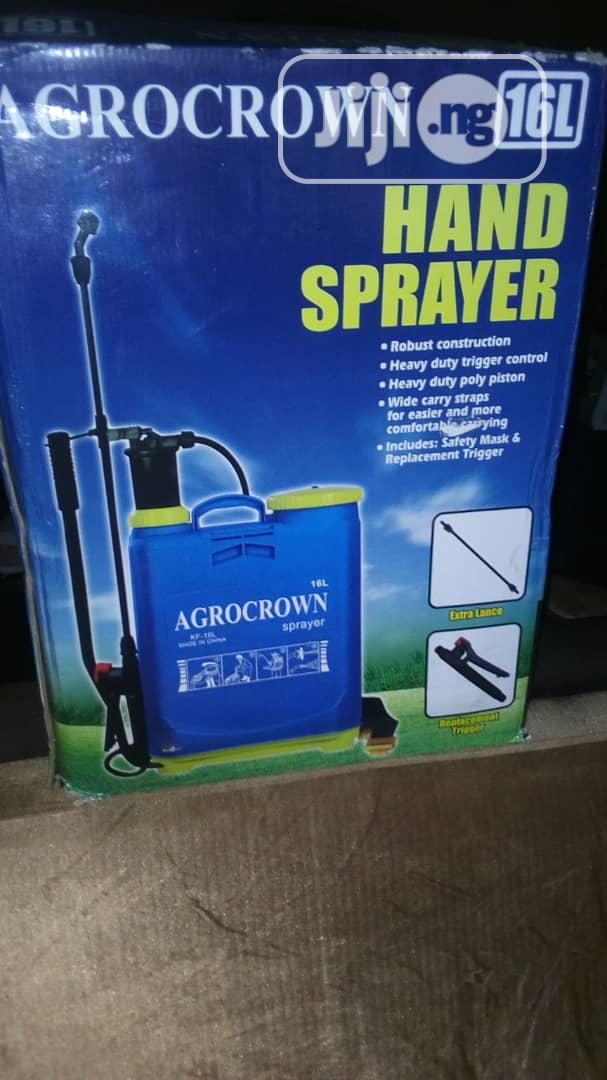 Archive: 16 Ltr Agrocrown Hand Sprayer For Sale