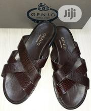 Genio Leather Slip-On Slippers 15% Discount | Shoes for sale in Lagos State, Ajah