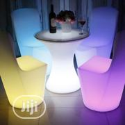 Led Cocktail Chairs And Table For Sale In Nigeria | Furniture for sale in Lagos State, Lagos Mainland