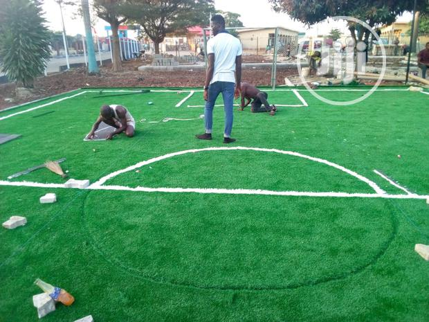 Synthetic Turf For Mini Football Pitch