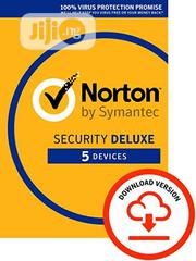 Norton Security Deluxe 5 Users | Software for sale in Lagos State, Ikeja