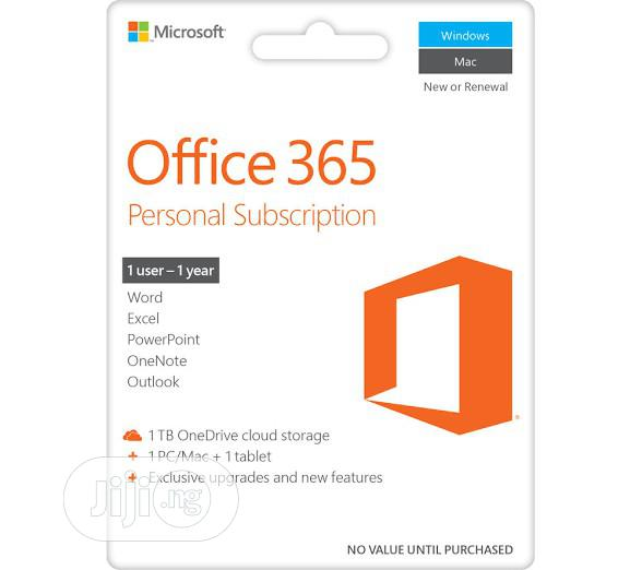 Microsoft Office 365 Personal 6user
