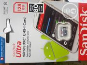 128gb Sandisk Micro SD Memory Card | Accessories & Supplies for Electronics for sale in Lagos State, Ikeja