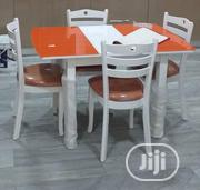 Quality Dining Table With 4 Chair's | Furniture for sale in Abuja (FCT) State, Chika