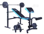 Bench Press With Barbells and Dumbbell | Sports Equipment for sale in Lagos State, Surulere
