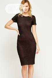 Mesh-overlay-pencil-dress- | Clothing for sale in Imo State, Owerri