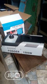Fog Machine 1500W With Wireless Remote Control With LED Light Effect | Stage Lighting & Effects for sale in Lagos State, Ojo