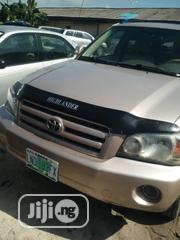 Toyota Highlander 2005 4x4 Gold   Cars for sale in Delta State, Warri South