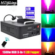 Fog Smoke Machine 1500W 24led Up Spray | Stage Lighting & Effects for sale in Lagos State, Ojo