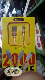 Luobr iPhone Fast Usb Cable | Accessories for Mobile Phones & Tablets for sale in Lagos State, Ikeja