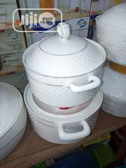 White Colour Quality Pots | Kitchen & Dining for sale in Lagos State, Lagos Island