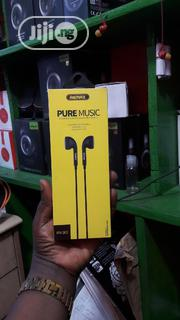 Remax Pure Music Stereo Earphones | Headphones for sale in Lagos State, Ikeja