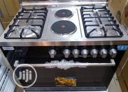 Trusted Quality 6burners Stainless Standing Gas With Oven Grill | Restaurant & Catering Equipment for sale in Lagos State, Ipaja