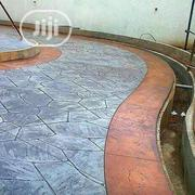 Concrete Stamping Floor Installation | Building & Trades Services for sale in Lagos State