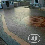 Stamping Concrete Floor Installation | Building & Trades Services for sale in Lagos State