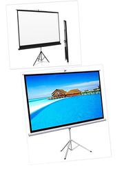 Standard Tripod Projector Screen | Accessories & Supplies for Electronics for sale in Lagos State, Magodo