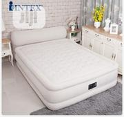 Intex Inflatable Queen Air Bed Mattress Built-In Electric Pump | Furniture for sale in Oyo State, Ibadan South West