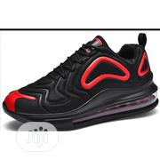 Men's Quality Sneakers in Black and Red | Shoes for sale in Lagos State, Amuwo-Odofin