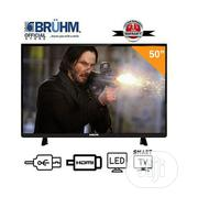 Bruhm 50-inch Smart 4K UHD LED TV- With Wall Bracket &1 Year Warranty | TV & DVD Equipment for sale in Osun State, Osogbo