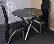 Quality 4 Seaters Round Glass Dining Table | Furniture for sale in Lagos State, Gbagada