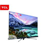 TCL 55-inch 4k Android Smart UHD TV With Harmon Kardon Speakers | TV & DVD Equipment for sale in Plateau State, Jos