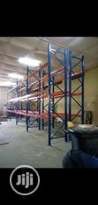 Industrial Heavy Duty Warehouse Pallet Racking System | Store Equipment for sale in Lagos Mainland, Lagos State, Nigeria