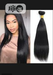 Straight Hair 18inches With Closure 12inches 100%   Hair Beauty for sale in Lagos State, Ojo