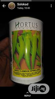 Hortus Clemson Spineless Okra Seeds | Feeds, Supplements & Seeds for sale in Oyo State, Ibadan North
