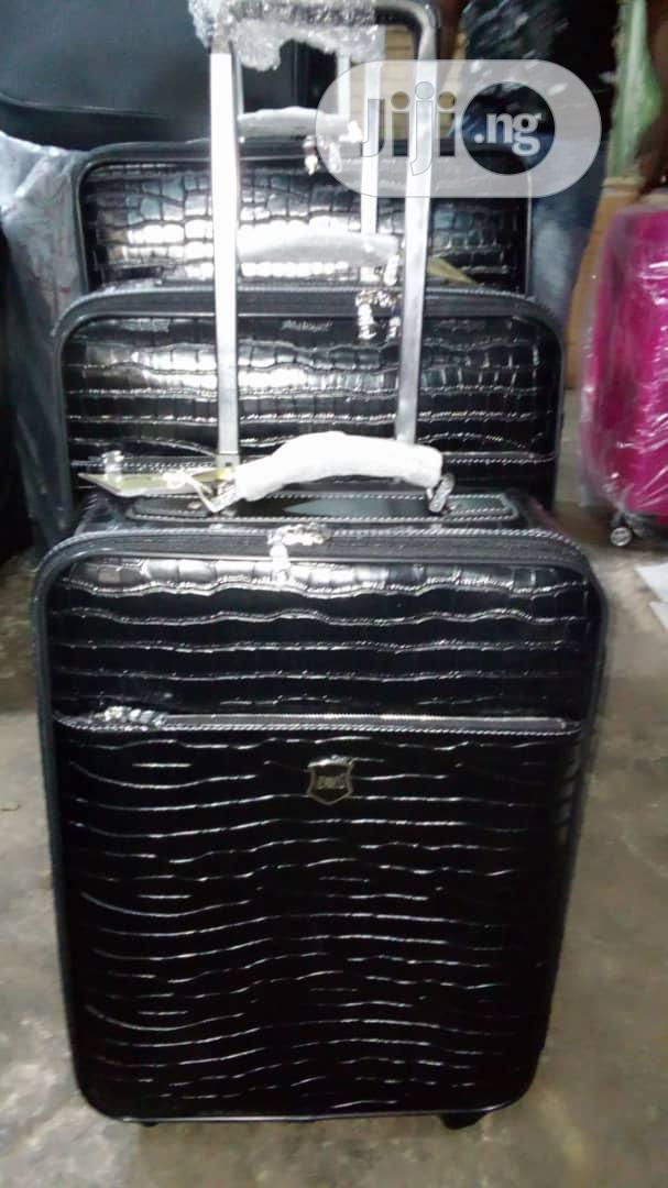Cowhide Leather Luggage