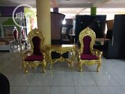 Royal Chairs And Side Table | Furniture for sale in Lagos State, Ojo
