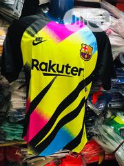 Barcelona Goalkeeper Shirt | Clothing for sale in Lagos State, Mushin