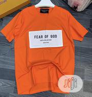 Fear of God Mens Top Orange | Clothing for sale in Lagos State, Ikeja