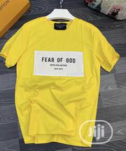 Fear of God Mens Top Yellow | Clothing for sale in Lagos State, Ikeja