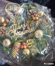 Christmas Special Christmas Wreath With Pine Cones & Balls | Arts & Crafts for sale in Lagos State, Mushin