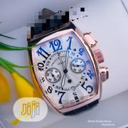 Classic Franck Muller Wristwatch With Genuine Leather | Watches for sale in Lagos State, Lagos Island