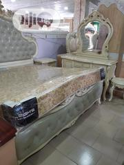 Newly Imported Royal Bed With Dresser and Drawers | Furniture for sale in Lagos State, Lagos Mainland