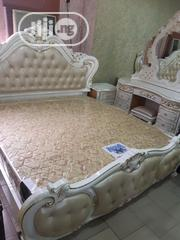 White Foreign Royal Bed | Furniture for sale in Lagos State, Lagos Mainland