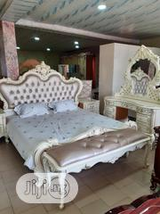 Standard Quality And Royal Bed With Dresser Wardrobe And Bed Bench | Furniture for sale in Lagos State, Lagos Mainland
