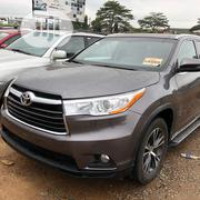 Toyota Highlander 2016 XLE V6 4x2 (3.5L 6cyl 6A) Gray | Cars for sale in Lagos State, Ojodu