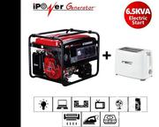 Ipower 6500d-Dc (6.5KVA) Gasoline Generator With Free ITEC Toaster | Electrical Equipments for sale in Ondo State, Akoko South West