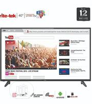 Rite-tek 40 Inch Android Smart Full HD LED TV With... | TV & DVD Equipment for sale in Lagos State, Ikeja
