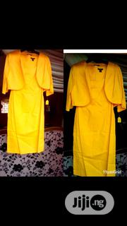 2 Piece Yellow Jacket Set | Clothing for sale in Lagos State, Yaba