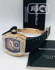 Original Richard Mille Men's Quality Leather Wristwatch | Watches for sale in Lagos State, Lagos Island