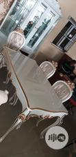 Wooden Dinning With 6 Chairs | Furniture for sale in Ojo, Lagos State, Nigeria